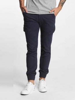 SHINE Original Pantalon cargo Slim bleu
