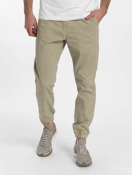 SHINE Original Pantalon chino Drop Crotch beige