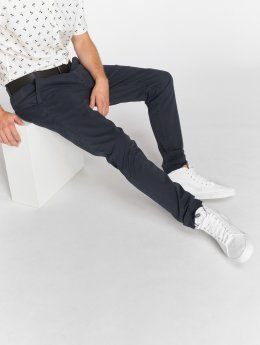 SHINE Original Pantalon chino Stretch bleu