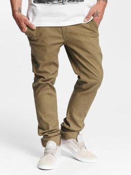 SHINE Original Pantalon chino Royal kaki