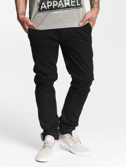SHINE Original Pantalon chino Royal noir
