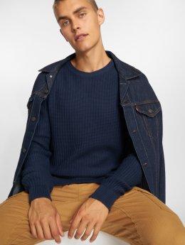 SHINE Original Pullover Patent Knit blue
