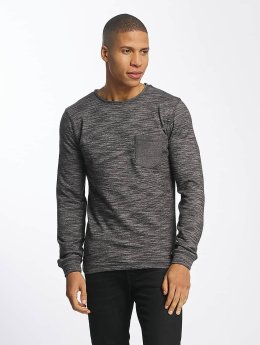 SHINE Original Pullover Malcom Pocket Inside Out grau