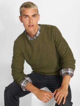 SHINE Original Pullover  Patent Knit green