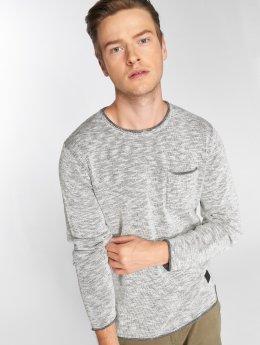 SHINE Original Pullover Slub Knit weiß
