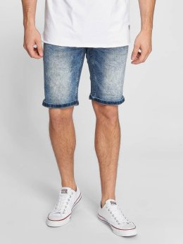 SHINE Original Wardell Regular Fit Denim Shorts Marble Blue
