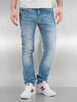 SHINE Original Männer Skinny Jeans Woody Slim Fit in blau