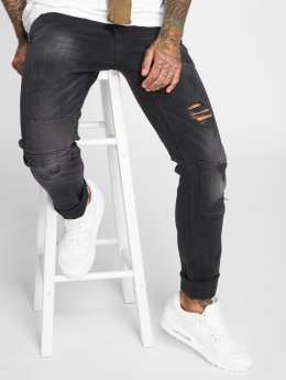 SHINE Original Skinny jeans Long svart
