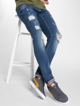 SHINE Original Slim Fit Jeans 2.Woody blau