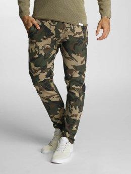 SHINE Original Spodnie wizytowe Russel Drop moro