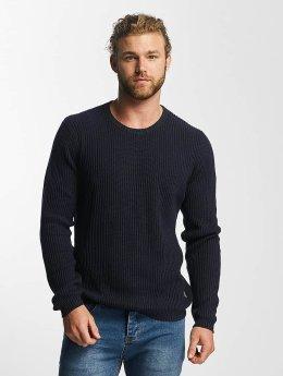 SHINE Original Sweat & Pull O-Neck Knit bleu
