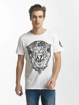 SHINE Original T-paidat Rock 'n Roll valkoinen