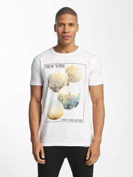 SHINE Original T-Shirt Barret Photo Print blanc