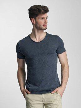 SHINE Original T-Shirt Mélange blau