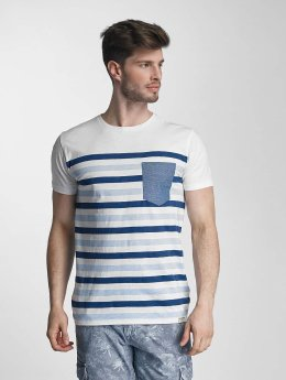 SHINE Original t-shirt Striped blauw