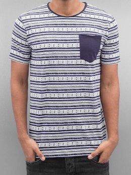 SHINE Original T-Shirt Stripes bleu