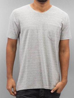 SHINE Original t-shirt Inside Out Stripe grijs