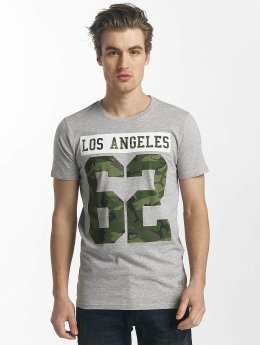 SHINE Original t-shirt Buster Varsity Print grijs