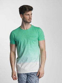 SHINE Original t-shirt Dip Dyed groen