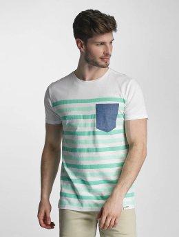 SHINE Original t-shirt Striped groen