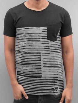 SHINE Original T-Shirt Stripes noir