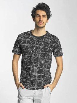 SHINE Original T-Shirt Stripes schwarz