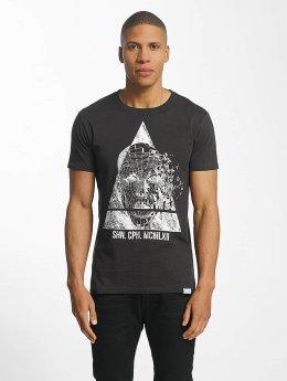 SHINE Original T-Shirt August Graphic schwarz