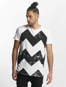 SHINE Original T-Shirt Original Zig Zag weiß