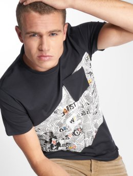 SHINE Original t-shirt Irvine  zwart