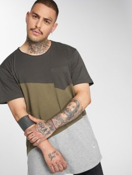 SHINE Original T-shirts Block oliven