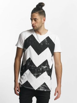SHINE Original Zig Zag Print T-Shirt White