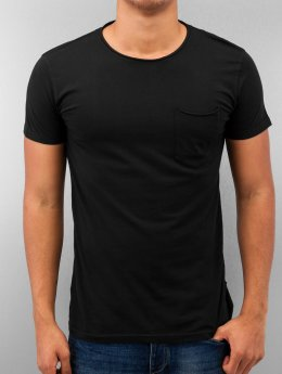 SHINE Original T-skjorter Dyed & Wash Out svart