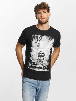 SHINE Original T-skjorter Kleth Photo Print svart