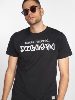 SHINE Original T-skjorter Diggerz svart
