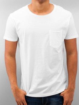 SHINE Original Tričká Dyed & Wash Out biela
