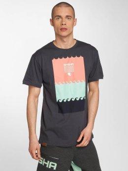 Shisha  T-Shirt Shisha Schwell T-Shirt gris