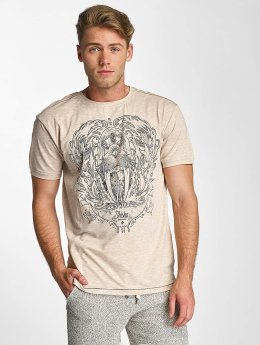 Shisha  T-shirts Waalross beige