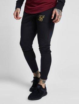 Sik Silk Jogging kalhoty Zonal čern