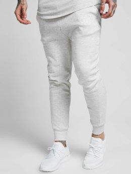 Sik Silk Jogging kalhoty Skinny šedá