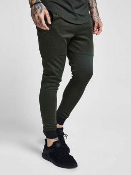 Sik Silk Jogging kalhoty Agility hnědožlutý