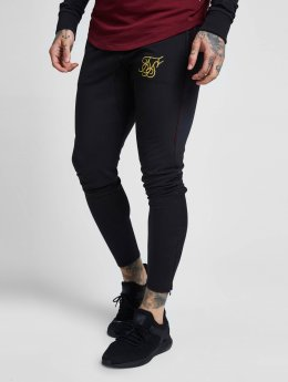 Sik Silk joggingbroek Zonal zwart
