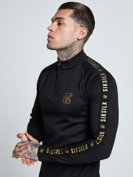 Sik Silk Longsleeves Athlete Training czarny