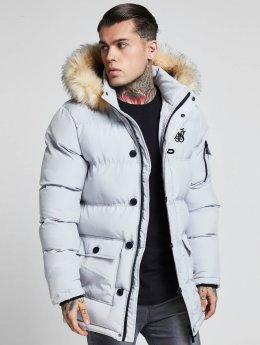 Sik Silk Parka Puff gray