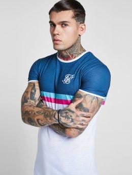 Sik Silk T-Shirt Curved Hem Sports turquoise