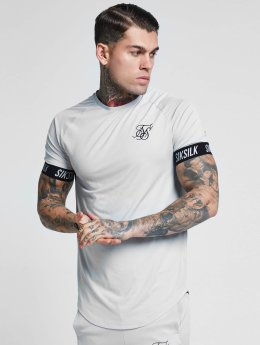 Sik Silk T-skjorter Tech grå
