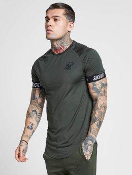 Sik Silk T-skjorter Tech khaki