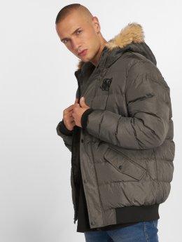 Sik Silk Winter Jacket Parachute grey