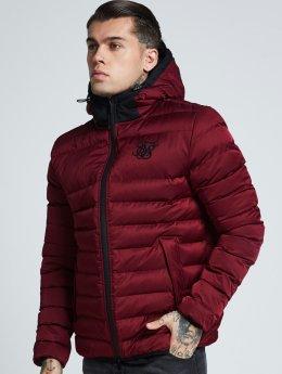 Sik Silk winterjas Target rood