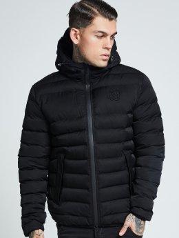 Sik Silk winterjas Target zwart