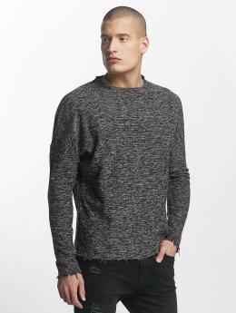 Sixth June Пуловер Oversize Classic серый